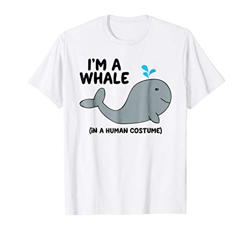 (Whale Costume Shirt Gift for Whales)