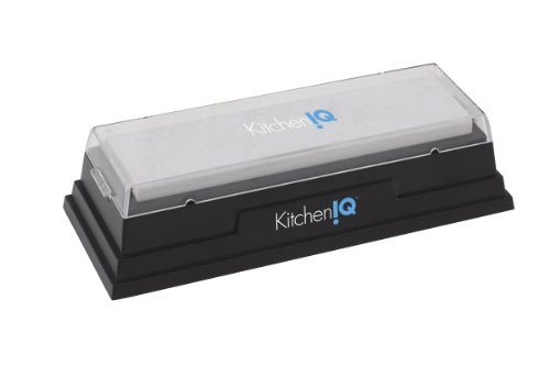 KitchenIQ 50078 Natural Arkansas Sharpening Stone by KitchenIQ