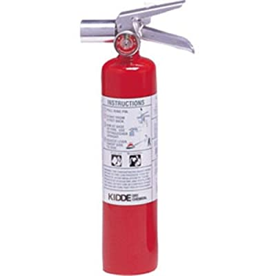 Fire Extinguisher w/ Wall Hook (2.5 LB BC ProPlus 2.5 H Halotron I) 466727K