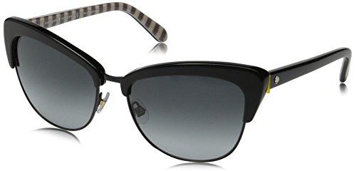 Kate Spade Women's Genette Cateye Sunglasses, Black & Gray Gradient, 56 - Eyeglass Frames Amazon