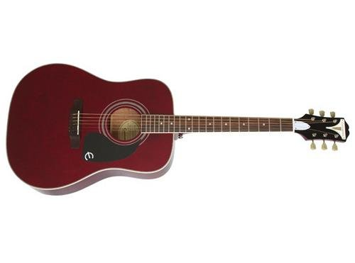 Epiphone EAPPWRCH1 PRO-1 PLUS Acoustic Guitar, Wine Red Wine Red Guitar