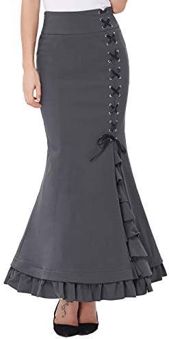 Belle Poque Enagua de Sirena Victoriana Vintage tamaño Extensible ...