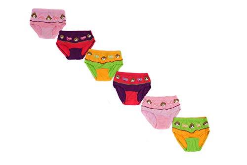 Red Rose Girls Dora Cotton Panties – Pack of 6