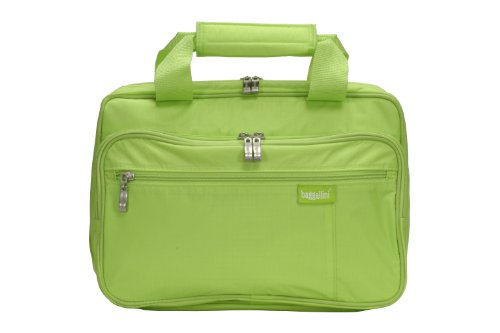 Baggallini Luggage Complete Cosmetic Bag, Lime, One Size, Bags Central