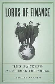 Lords of Finance 1st (first) edition Text Only