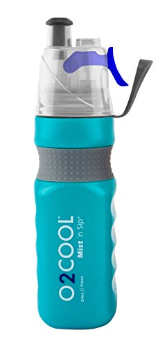 o2cool-power-flow-grip-band-bottle-with-classic-mist-n-sip-top-24-oz-teal