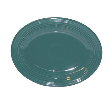 Fiesta 11-5/8-Inch Oval Platter, Evergreen (Platter Serving Fiesta Oval)