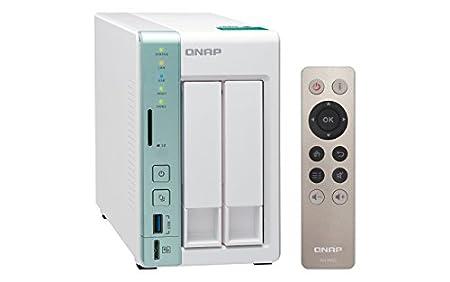QNAP TS-251A Ethernet Torre Color Menta, Blanco NAS - Unidad Raid ...