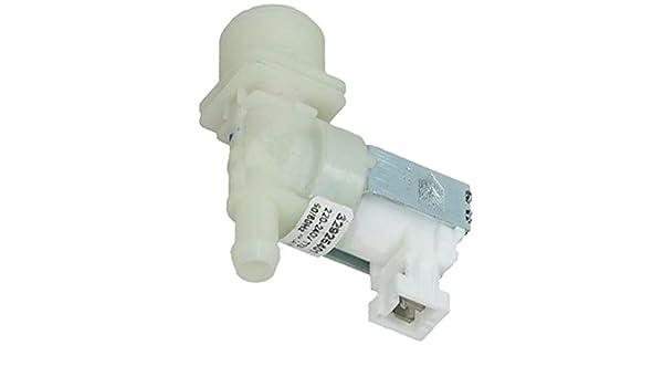 SPARES2GO Solenoid Válvula de agua fría para lavavajillas ...