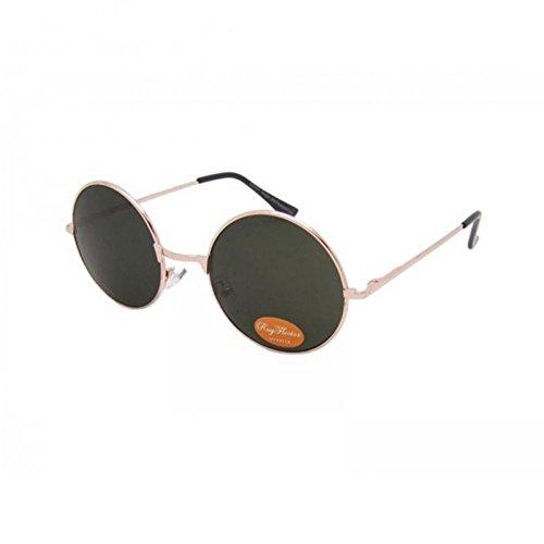 unisexe Lennon teintées soleil longue vert John de 400UV Chic rose Lunettes net jetée hippie lunettes de rondes qIO5Pv