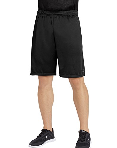 Champion Men's Vapor Select Short, Black, - With Pants No Baseball Elastic
