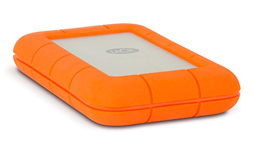 LaCie Rugged 2TB Thunderbolt and USB 3.0 Portable Hard Drive + 1mo Adobe CC All Apps (LAC9000489) (Best Usb For Djing)