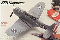 - SBD Dauntless 1-72 by Testors