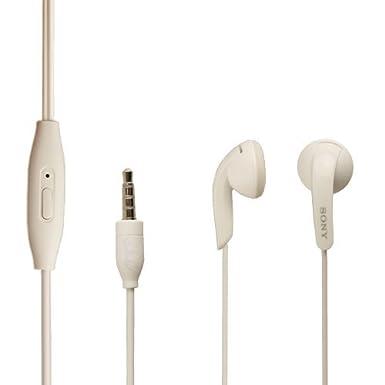 2dacadf8c17 Sony MH410C Earphones White: Amazon.co.uk: Electronics