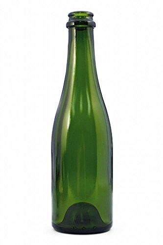 375 ml Green Champenoise Wine Bottles, Case of 12 ()