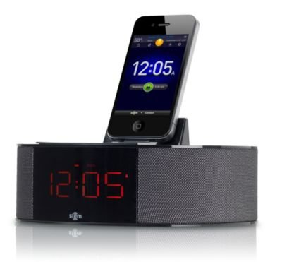 Stem Innovation Time Command Audio Alarm Dock for iPod, iPhone and iPad 3 ()