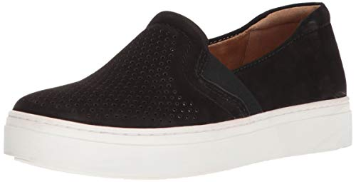 Naturalizer Women's Carly Sneaker, Black Leather, 7 M US