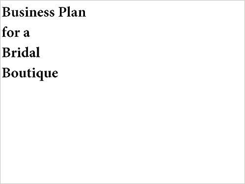 Boutique Business Plans Commercee Fashion Boutique Business Plan