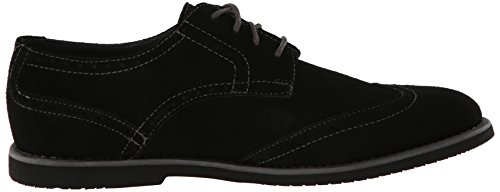 Calvin Klein Men's Faxon Oxford,Black/Black,9.5 M US