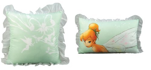 Disney Bed Tink 'Water Color' Fairies Dec Pillows, 2-Pack