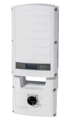 SolarEdge SE7600A-US 1-Ph Grid Tied Inverter, 7600W, 240VAC,