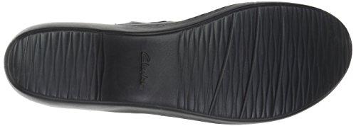 W Black Clog Women's Abbey Leather Delana Us 065 Clarks xzq0twIn1