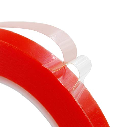 - 10mm x25M Clear Double Sided Strong Adhesive Acrylic Tape for Cellphone iPhone Tablet LCD Screen Repair