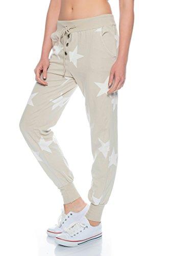 Fashion Flash - Pantalón - Pantalones - para mujer beige claro