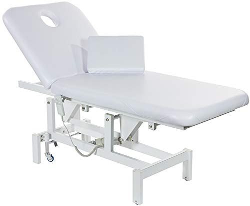 Opal Electric facial bed Massage Table with Motorized Reclinable height and Backrest By SkinAct (Motorized Facial Bed)