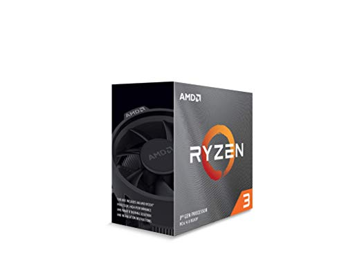 Amd Ryzen 3 3100 Procesador 4c8t 18mb Cache 39 Ghz Max Boost