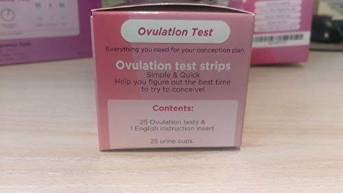 25 Ovulation Test Kit (25 LH Tests) by Checkurate (Image #3)