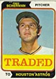 1974 Topps Traded #186T Fred Scherman Excellent Mint