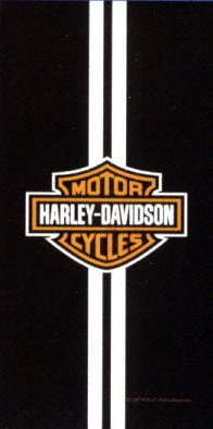 Harley Davidson Legend Racing Stripes Beach/Bath Towel #52