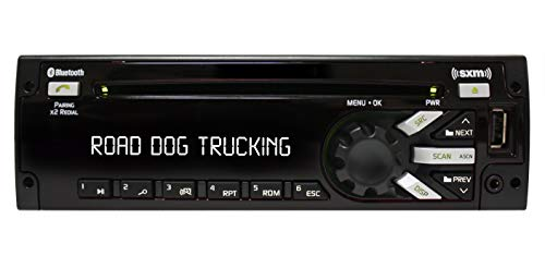 Delphi PP107092 Freightliner Heavy Duty AM/FM/MP3/WMA/WB CD Player with Front Panel USB Port and Integrated Sirius XM Satellite Radio and Blue Tooth