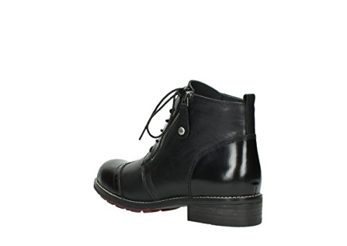 Wolky Chaussures Comfort Noir à lacets Millstream 44f5w