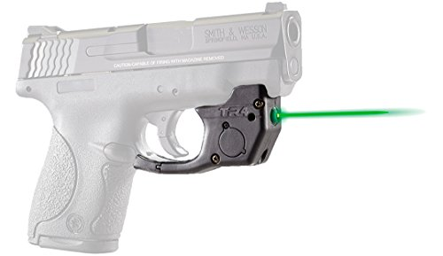 ArmaLaser Smith & Wesson S&W Shield TR4G Super-Bright Green Laser with Grip Activation