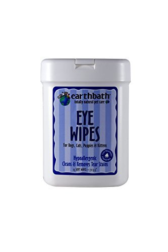 Earthbath Eye Wipes (Earthbath All Natural Specialty Eye Wipes, 25 Wipes (Pack of 2))