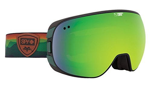 Arc Snowboard Jacket - Spy Optic Doom Wiley Miller Snow Goggles | Wide Field of View Ski, Snowboard or Snowmobile Goggle | Two Lenses with Patented Happy Lens Tech