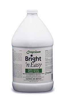 Matte Gallon - Congoleum Bright 'N Easy Satin-gloss Floor Polish (Matte), Gallon