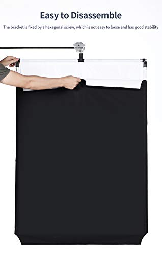 OPEN DRAWER Sun Scrim 2.95 x 3.9 feet / 35 x 47 inch 5in1 Panel Sun Scrim Translucent Soft Cloth and Gold/Silver/Black/White Diffuser Reflector Aluminum Alloy Frame Compatible Video Photography by OPEN DRAWER (Image #6)