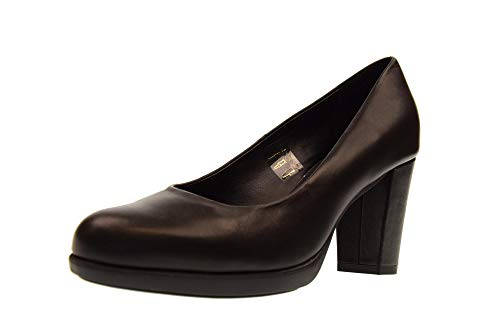 The 02 Woman D6504 New With Shoes Decollet Flexx Heel Rosanna Black RrRwT