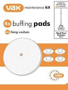 Vax Genuine VAX VS-11 VS11 Hard Floor Polisher Polishing Buffer Buffing Pads, by Vax