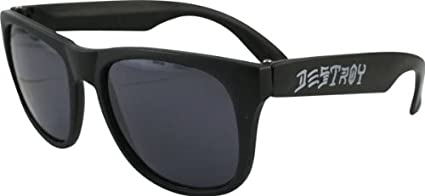 626b065bcd15 Image Unavailable. Image not available for. Color: Thrasher Magazine Skate  And Destroy Black Sunglasses