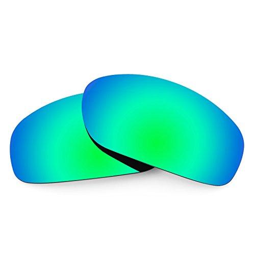 Verres de rechange pour Bolle Anaconda — Plusieurs options Vert Emeraude MirrorShield® - Polarisés