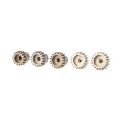 Pinion Set Gear (32DP 3.175mm 16T 17T 18T 19T 20T Pinion Motor Gear Set for 1/10 RC Car Brushed Brushless Motor by RCRunning)