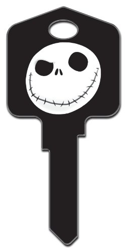 Uncut House Key - Jack Skellington Kwikset House Key (KW-D66)