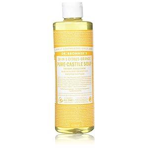 Dr Bronner Organic Citrus Castile Liquid Soap 237m...