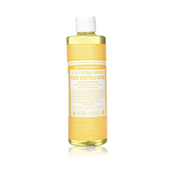 Dr Bronner Organic Citrus Castile Liquid Soap 237ml