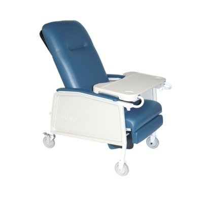 Drive Medical 3 Position Geri Chair Recliner, Blue Ridge (Recliner Three Position)