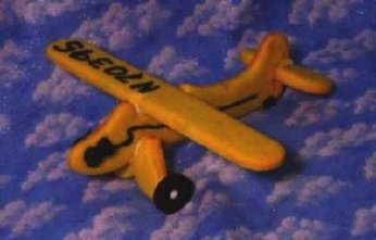 Airplane Tail Dragger 3D Cookie Cutter